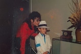 The late Michael Jackson is seen with Wade Robson