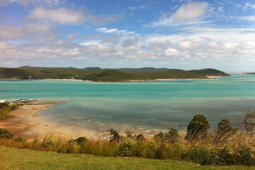 Prince of Wales Island in Torres Strait in May, 2012.