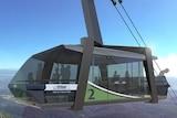 Mt Wellington Cable Car concept 2015 1