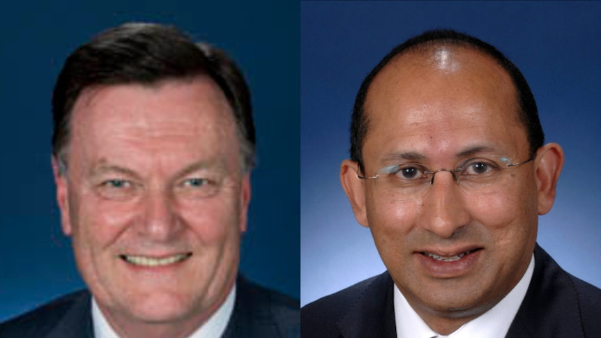 Government secretaries Michael Thawley and Peter Varghese