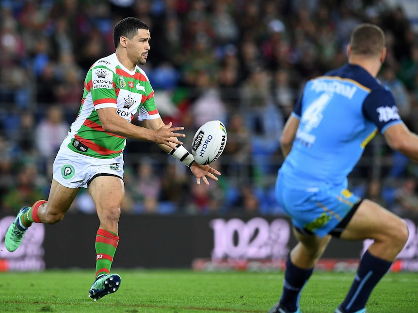 NRL live: Titans host Rabbitohs in top-eight clash on Gold Coast