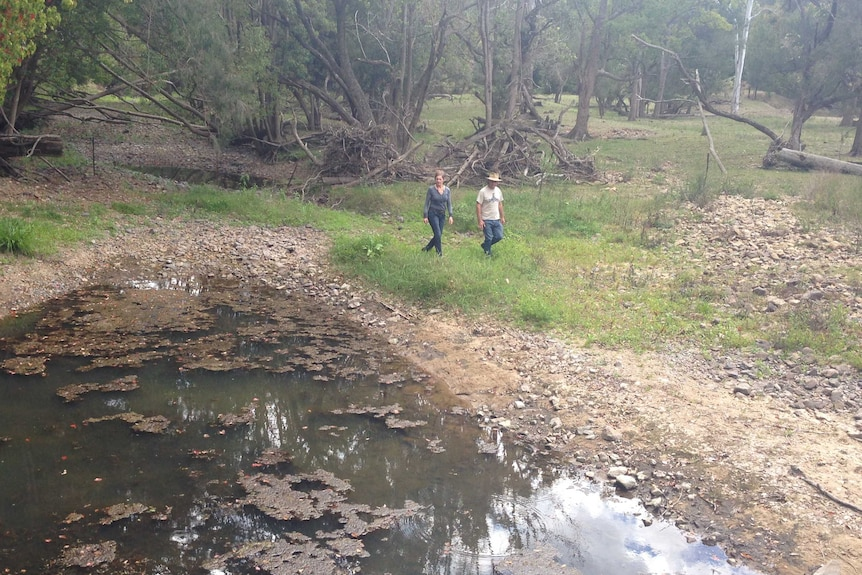 The Mount Nebo group is concerned about mining exploration works underway in the Brisbane Valley.