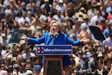 Hillary Clinton makes her first major campaign speech