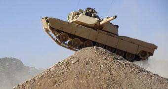 Australian Abrams battle tank