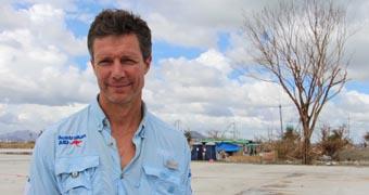 Dr Ian Norton in Tacloban