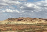 red hills and green spinifex of the Pilbara