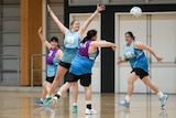 The NSW squad trains ahead of the Marie Little Shield season for 2018.