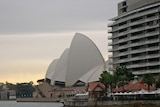 Sydney Opera House and the Toaster apartment building at Circular Quay