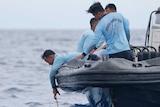 Indonesian navy retrieves from Lion Air plane crash