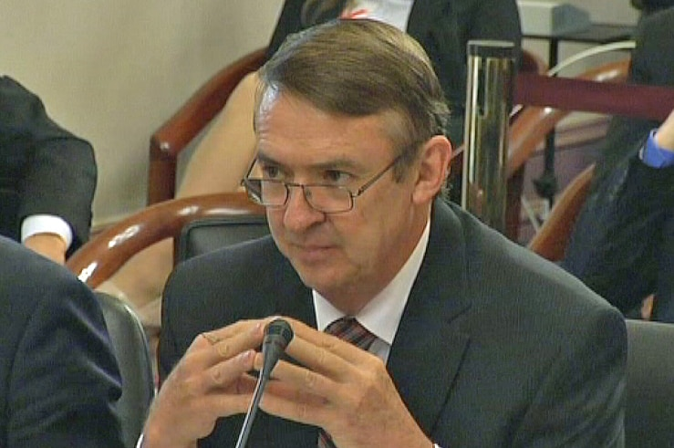 Terry Mulder says the business case for the Melbourne Rail Link will never be released in full.