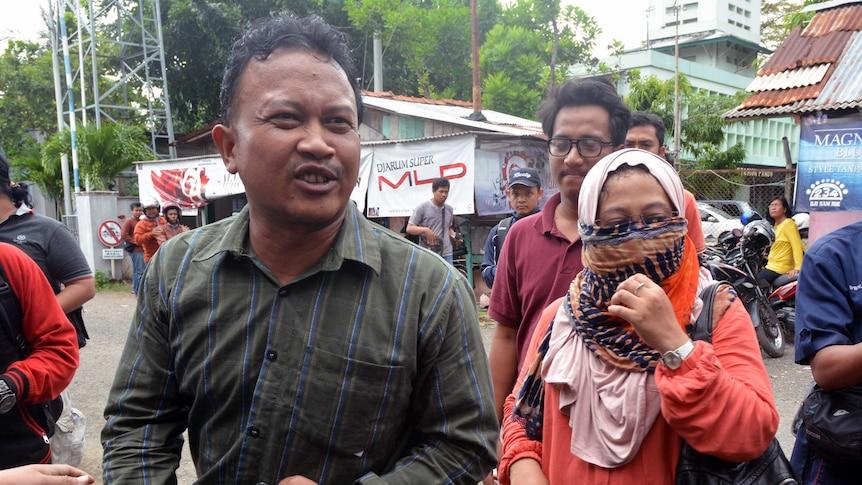 Dewi Retno Atik, wife of convicted drug smuggler Namaona Denis