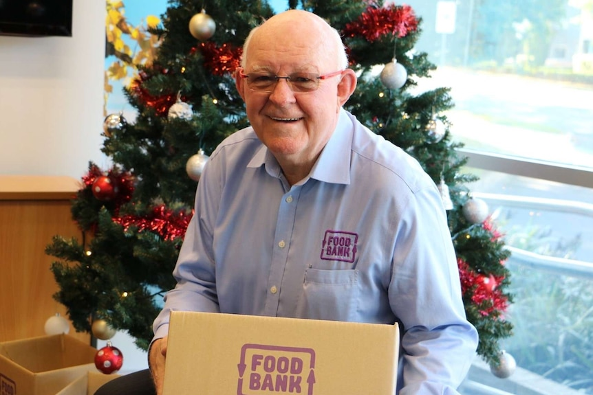 ACT and NSW Foodbank CEO Gerry Andersen