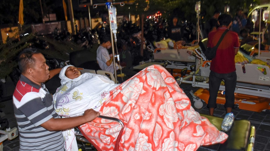 Footage shows the moment the earthquake hit (Photo: Reuters/Antara Foto)