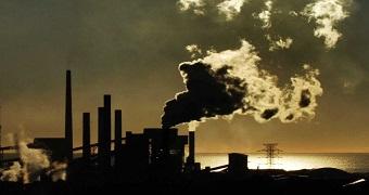 Custom image of carbon emissions