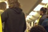 Police investigate racist tirade on train