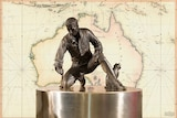 Matthew Flinders and his cat Trim were honoured with a statue at Port Lincoln.