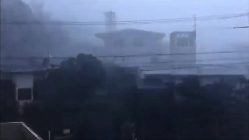 Deadly typhoon hits Japan