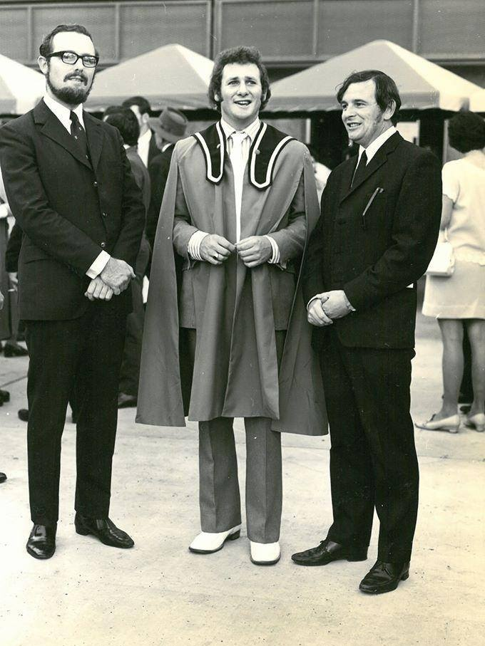 The first graduation at what is now CQUniversity