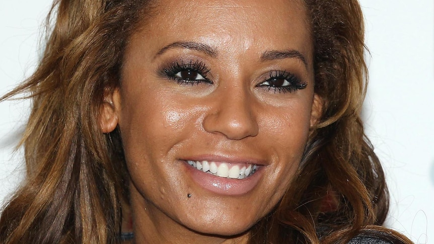 Melanie Brown at a photocall to launch her fitness DVD