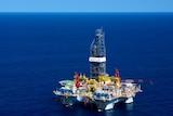 A Chevron off-shore gas platform