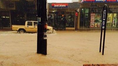 Merimbula flooded