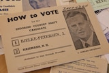 A how-to-vote card for Joh Bjelke-Petersen