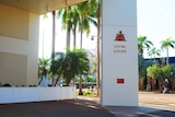 An exterior photo of the Darwin Local Court.