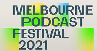 Melbourne Podcast Festival 2021 logo
