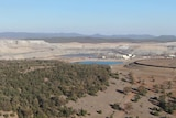 Aerial of the Maules Creek Mine