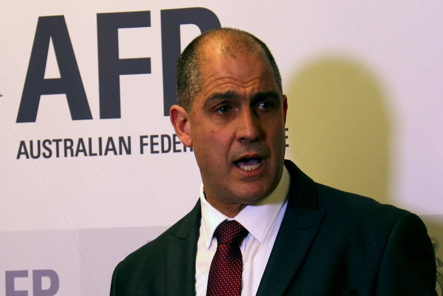 Ramzi Jabbour at AFP opening