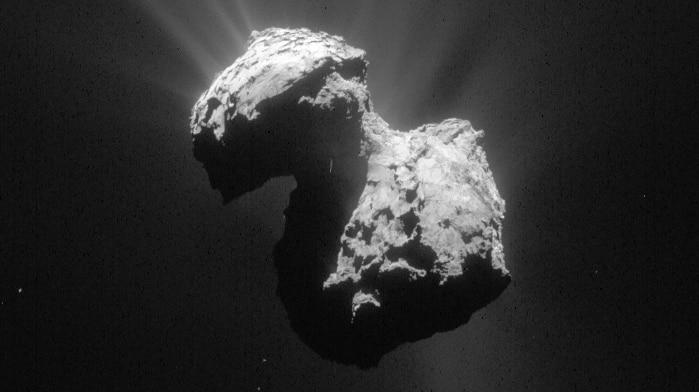 Comet 67P taken from Rosetta spacecraft
