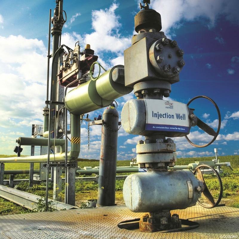 Carbon capture and storage in Otways