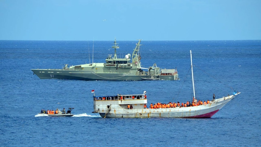 Police in PNG are concerned about a new potential people smuggling route.