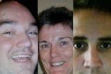 Kokoda tragedy: Peter Holliday, June Canavan and Matthew Leonard were on board the plane when it crashed.