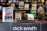 A Dick Smith store is seen in South Yarra in Melbourne