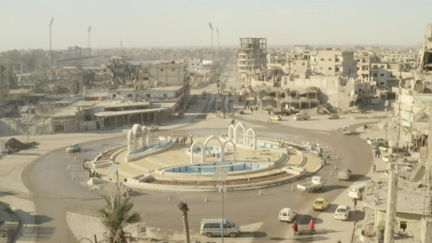 Leila is keen to show how her city of Raqqa is recovering from ISIS.