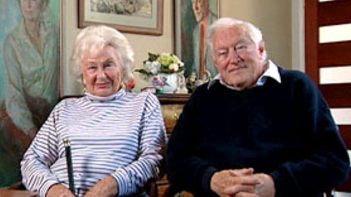 Googie Withers and husband John McCallum