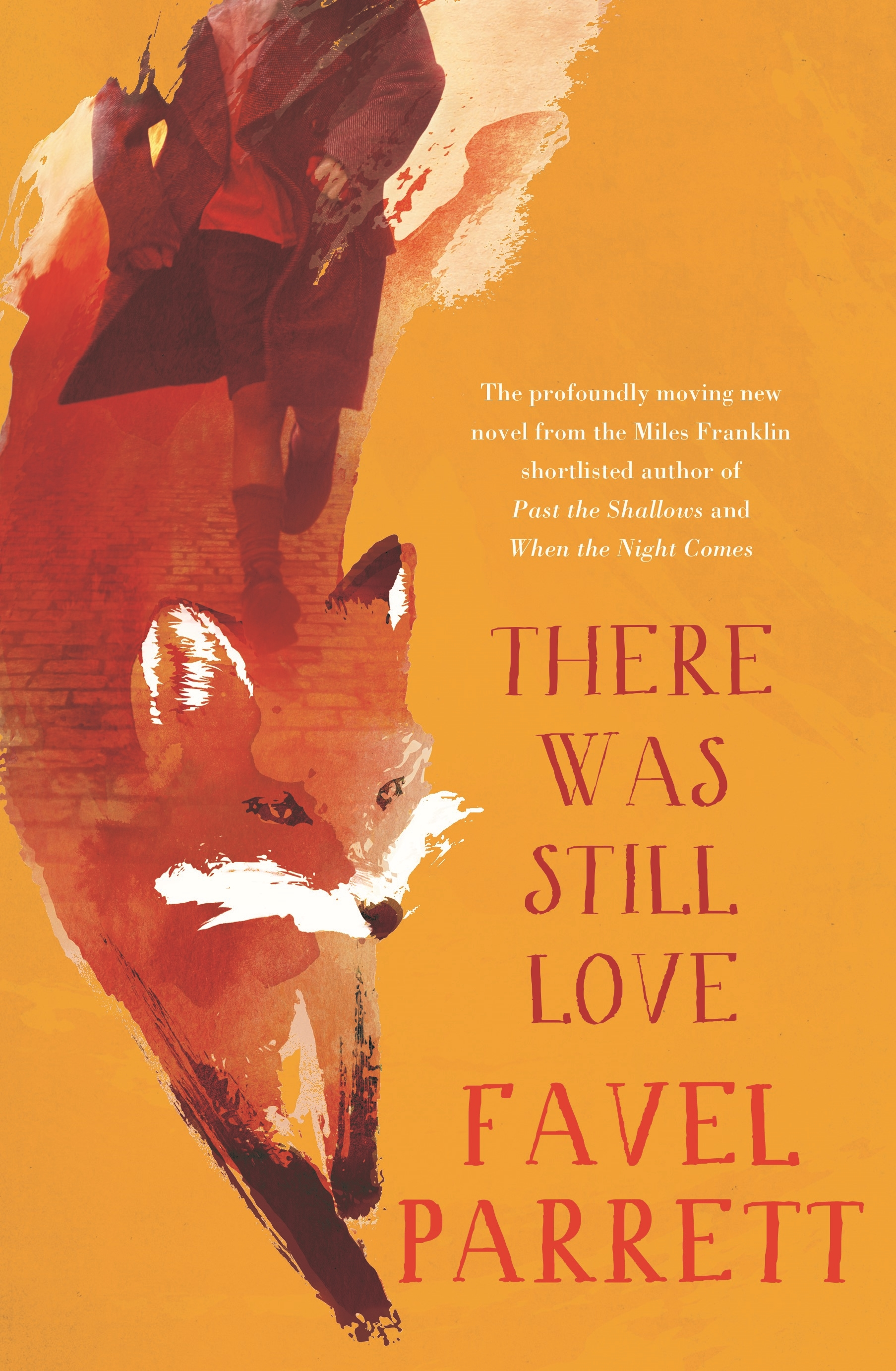 There Was Still Love by Favel Parrett book cover featuring an illustration of a red fox