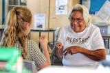 Gunggari woman, Aunty Lynette Nixon was named Female Elder of the Year in 2018