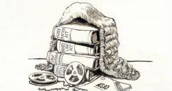 Geoff Pryor's cartoon about Lionel Murphy.