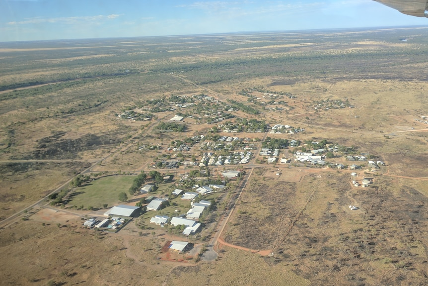 The Kimberley town of Fitzroy Crossing.
