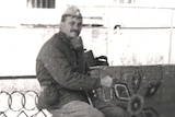 Jaan Krinal in Chernobyl.