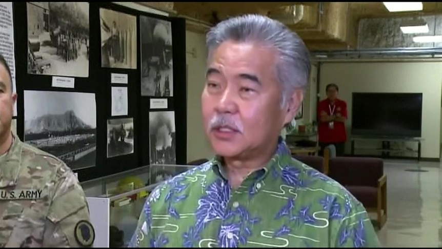 'Wrong button' caused false missile alert in Hawaii