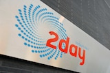 Sign at 2Day FM headquarters in Sydney