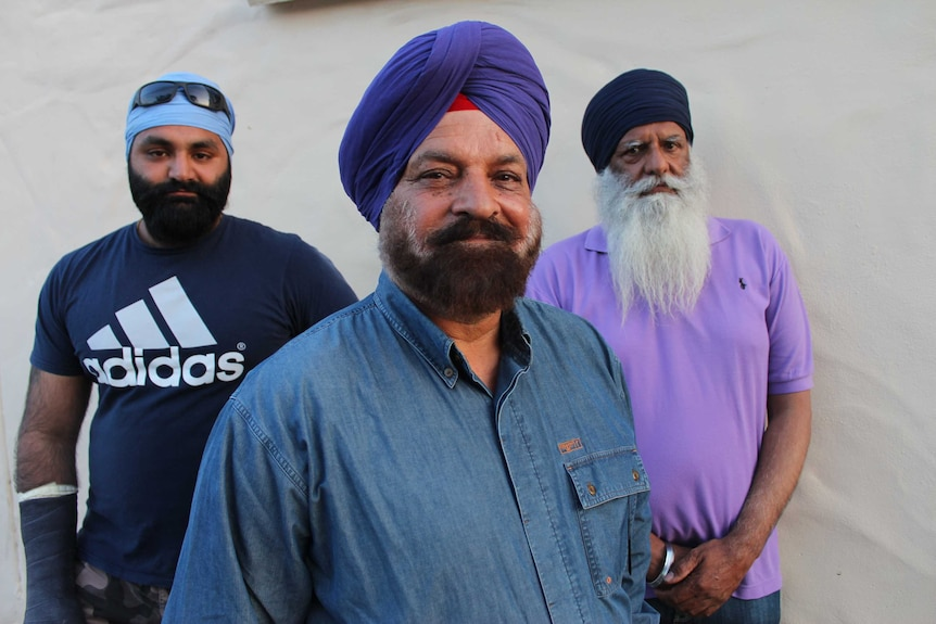 The Sikh community find it difficult to wear helmets with their turbans