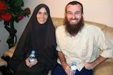 Freed hostages Amanda Lindhout and Nigel Brennan