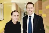 Dr Bethan Richards and Dr Imre Hunyor