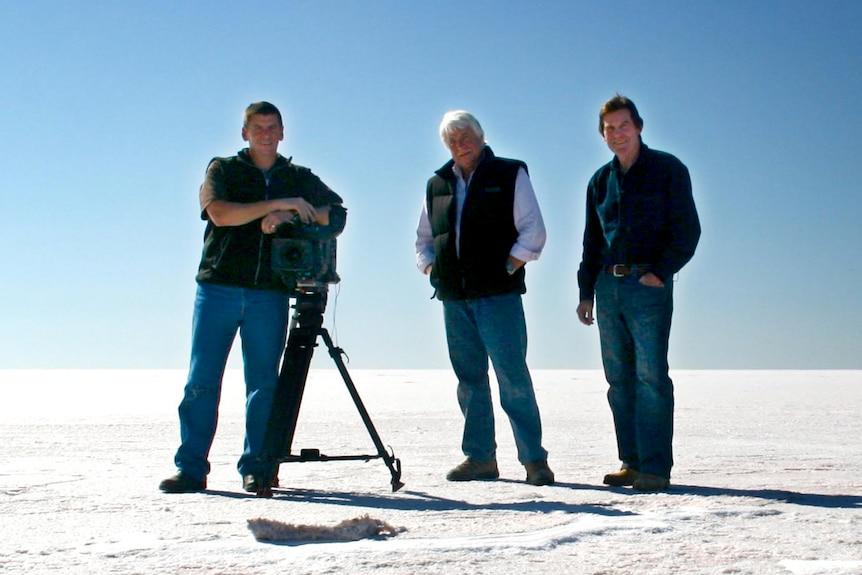 True professionals: John Bean, Gary Ticehurst and Paul Lockyer