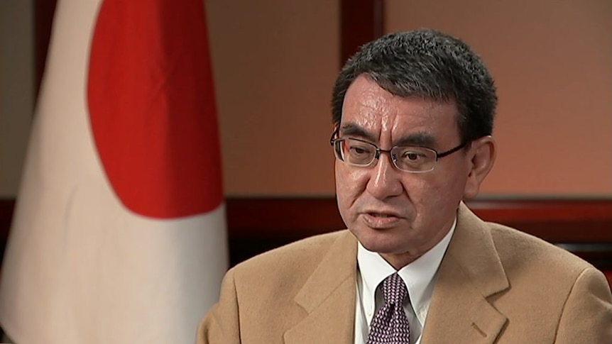 Japan's Foreign Minister says Australia and Japan could conduct joint patrols in the 'contentious' South China Sea region.