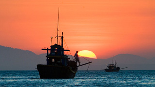 Vietnamese fisherman arrested in South China Sea